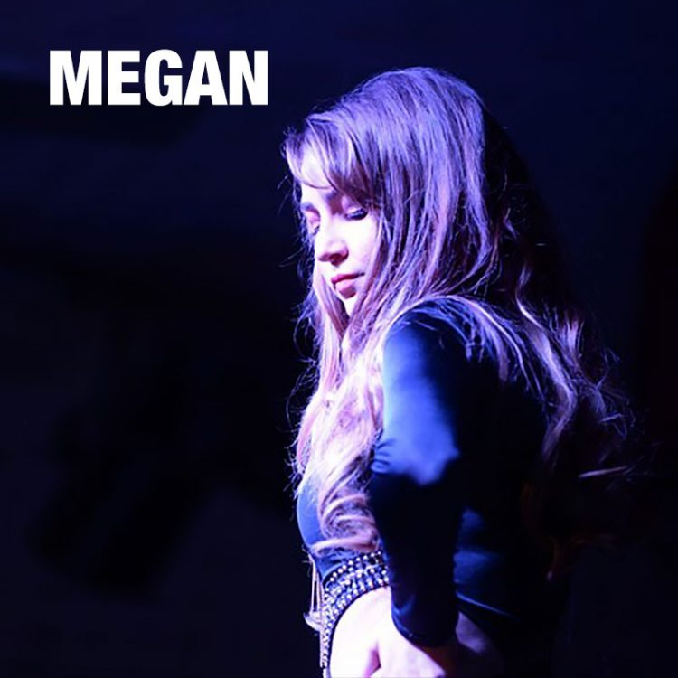 Megan - female solo vocalist