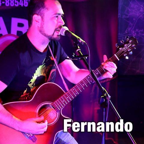 Fernando - solo guitar vocalist
