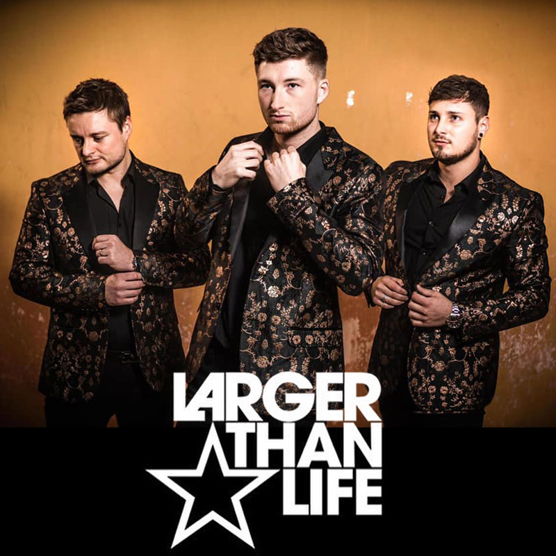 Larger Than Life - 90s boy band tribute show