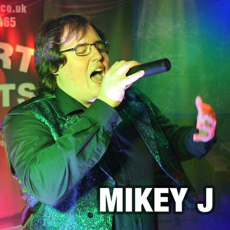 Mikey J - solo vocalist