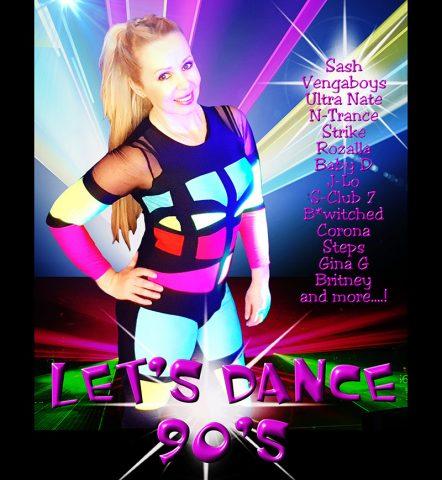 Suzy Hopwood - 90s Lets Dance Show