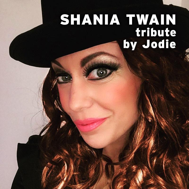 Shania Twain tribute by Jodie