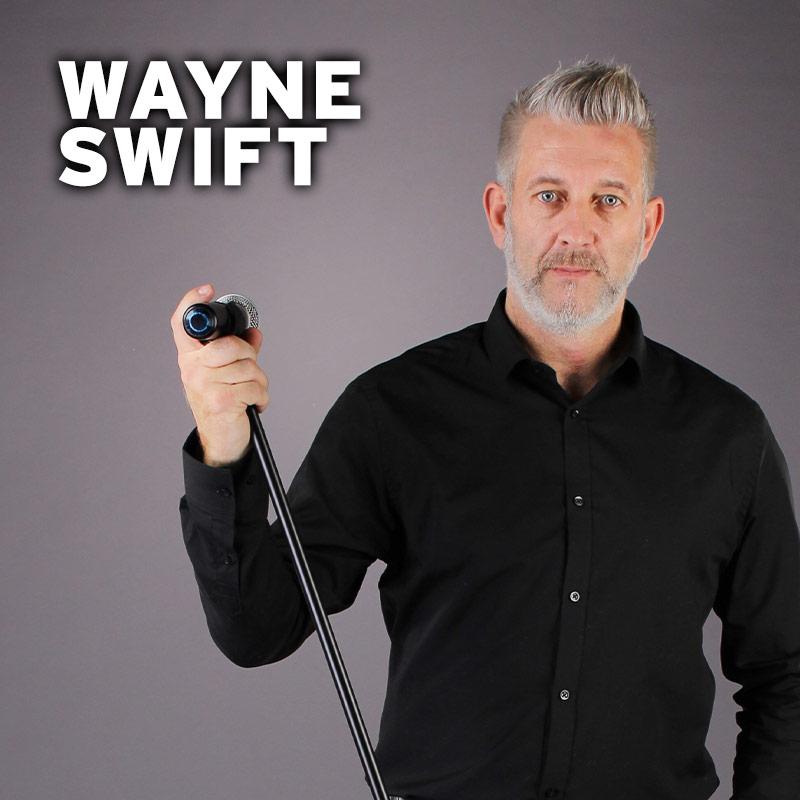 Wayne Swift - solo vocalist