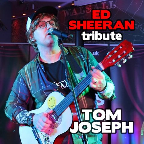 Ed Sheeran tribute Tom Joseph