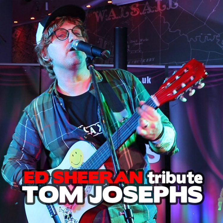 Ed Sheeran tribute Tom Josephs