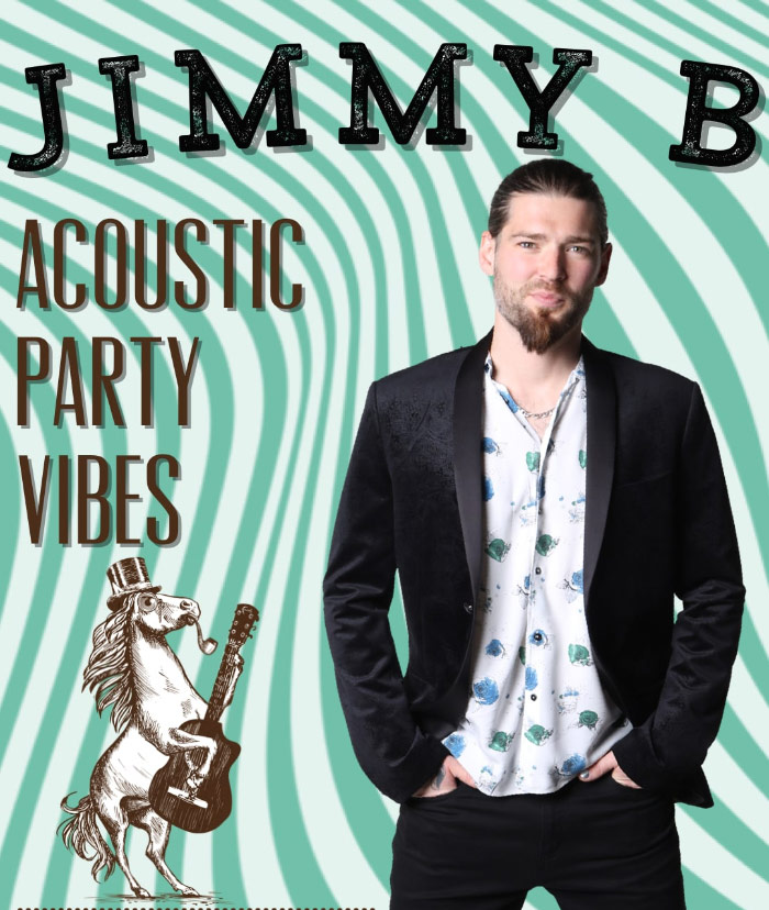 Jimmy B solo - from eccentric pony party band
