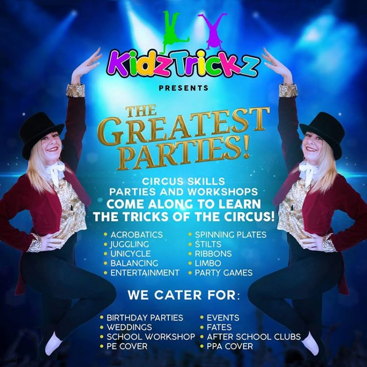 The Greatest Parties by Kidz Trickz