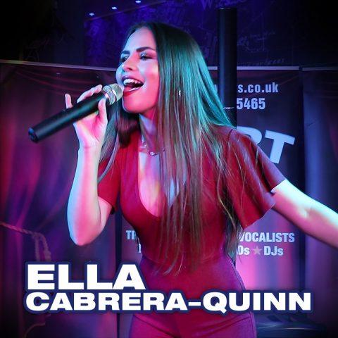 Ella Cabrera-Quinn - solo vocalist