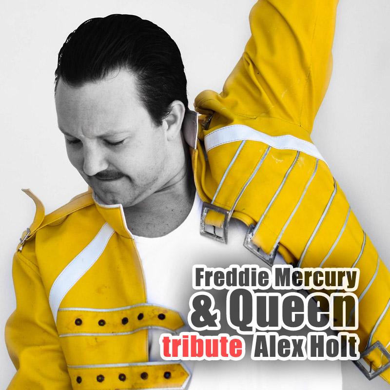 Freddie Mercury and Queen tribute - Alex Holt