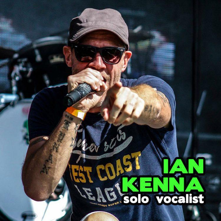 Ian Kenna - solo vocalist
