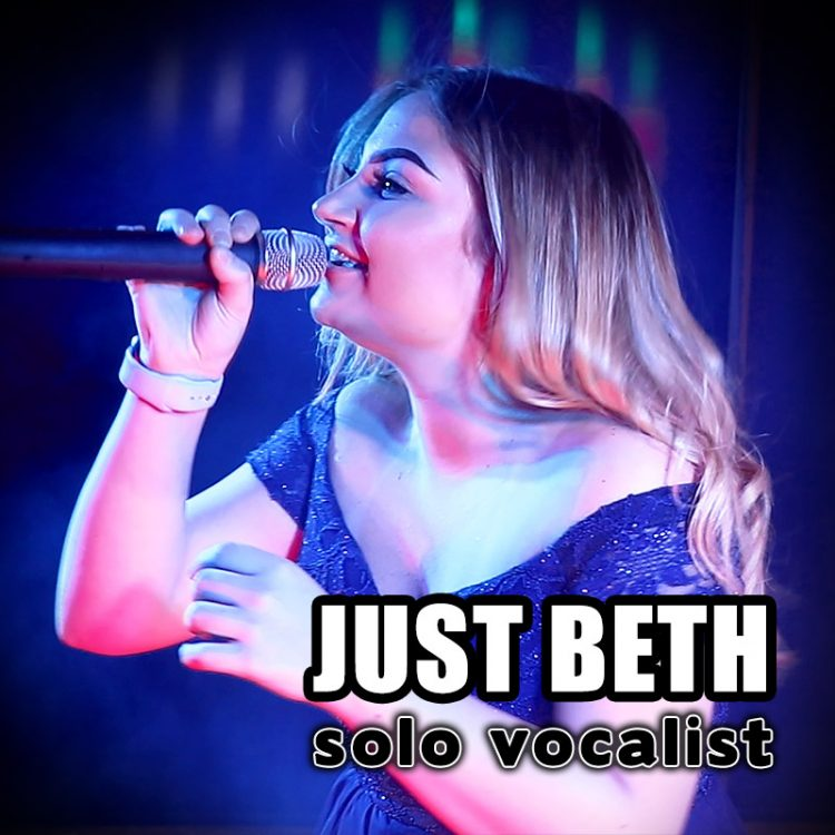 Just Beth - solo vocalist