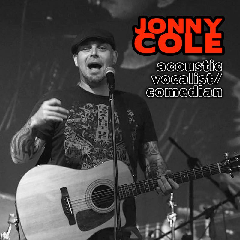Jonny Cole - acoustic vocalist comedian