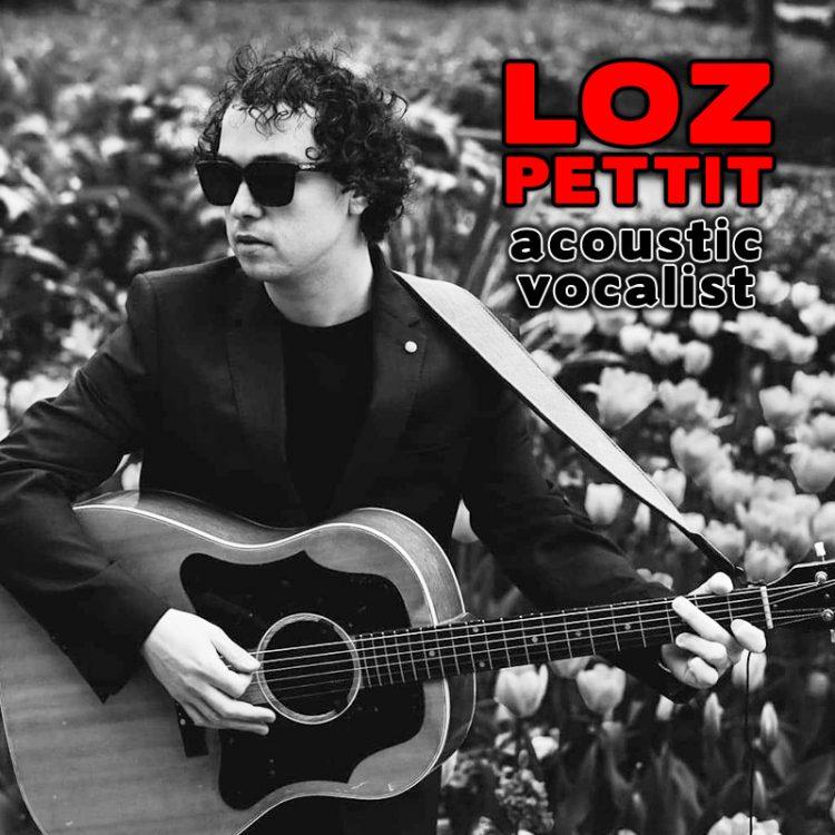 Loz Pettite - acoustic vocalist