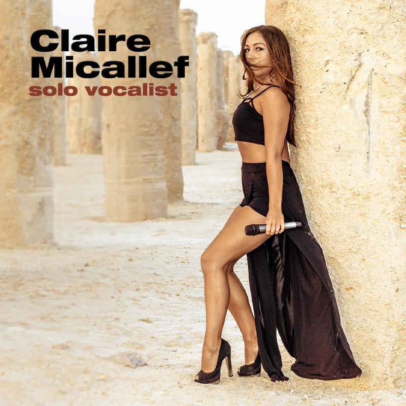 Claire Micallef - solo vocalist