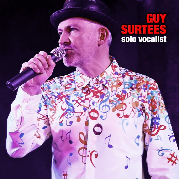 Guy Surtees - solo vocalist