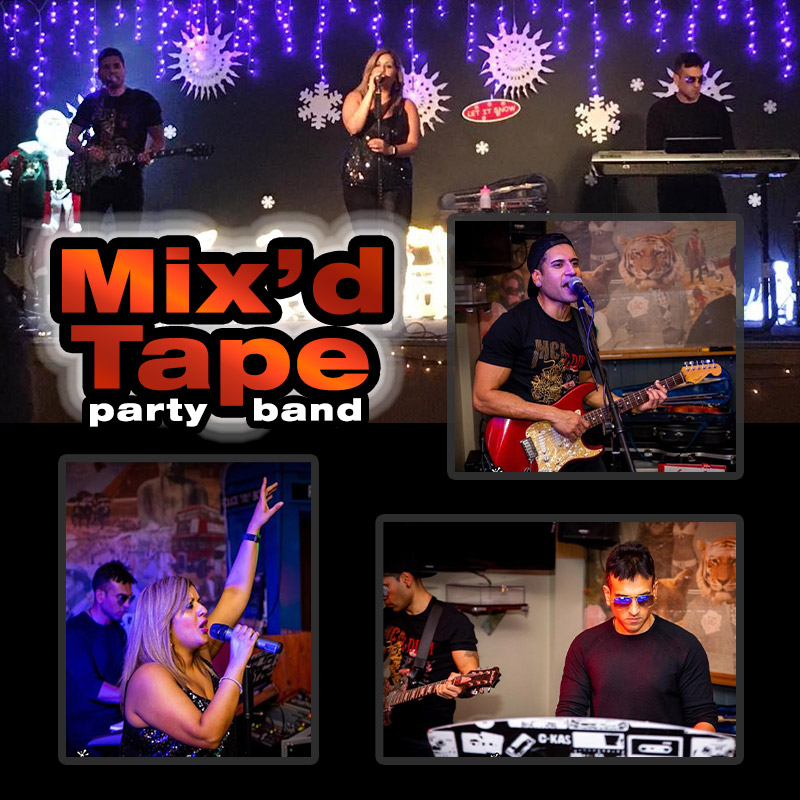 Mix'd Tape - party band - Mixed Tape band Midlands