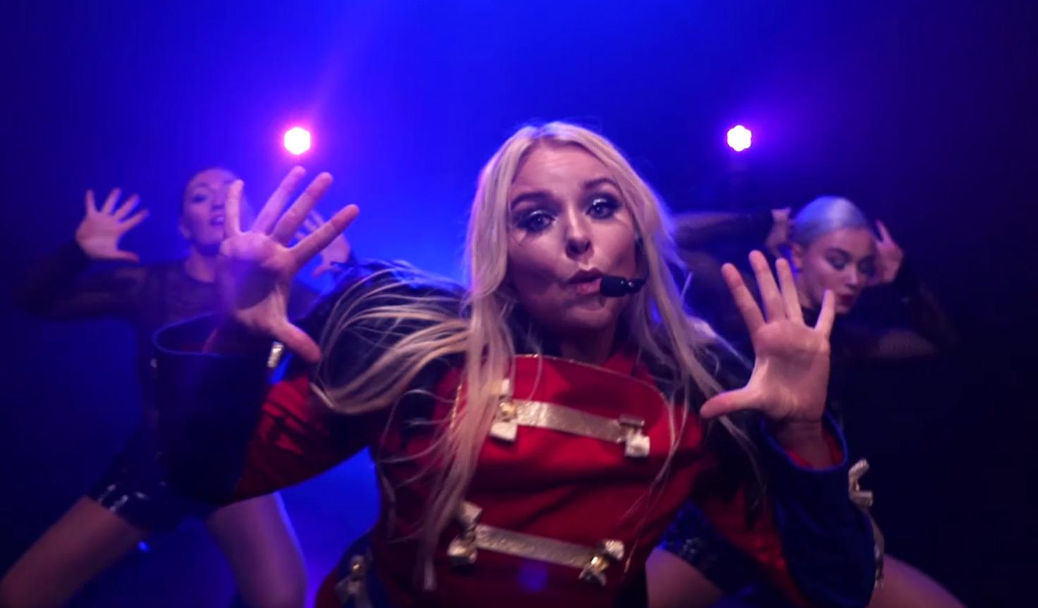 Britney Spears tribute - Holly Bills