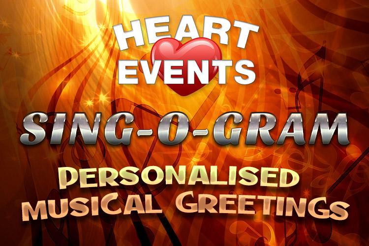 Sing-O-Gram personalised musical greetings videos