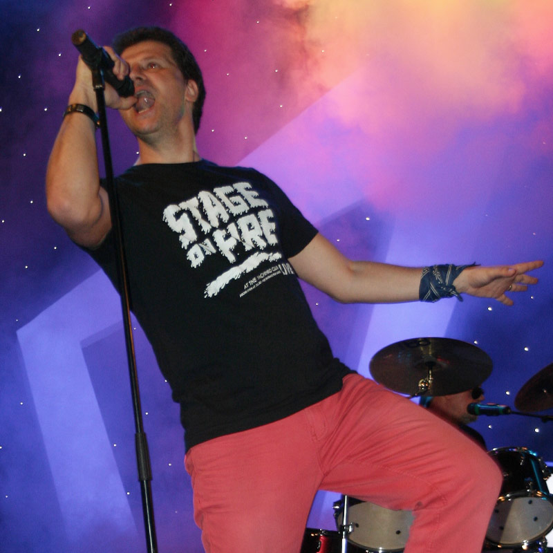 George Augustin - solo vocalist